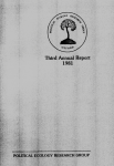 PERG 3rd Annual Report 1981