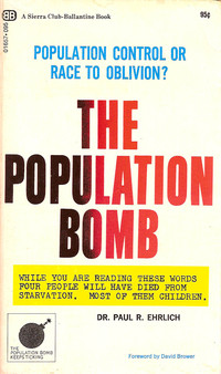Cover of The Population Bomb