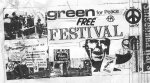Greenham Peace Festival Flyer