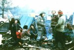 Discussions at Greenham Festival 1982