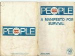 PEOPLE Manifesto for Survival 1974