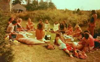 Collective Meeting 1983 at Higher Rockes, Butleigh