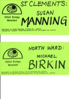 OEM window stickers for City Election 1978