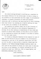 OEM appeal letter to supporters April 1979