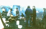 Camp at Greenham Festival 1982